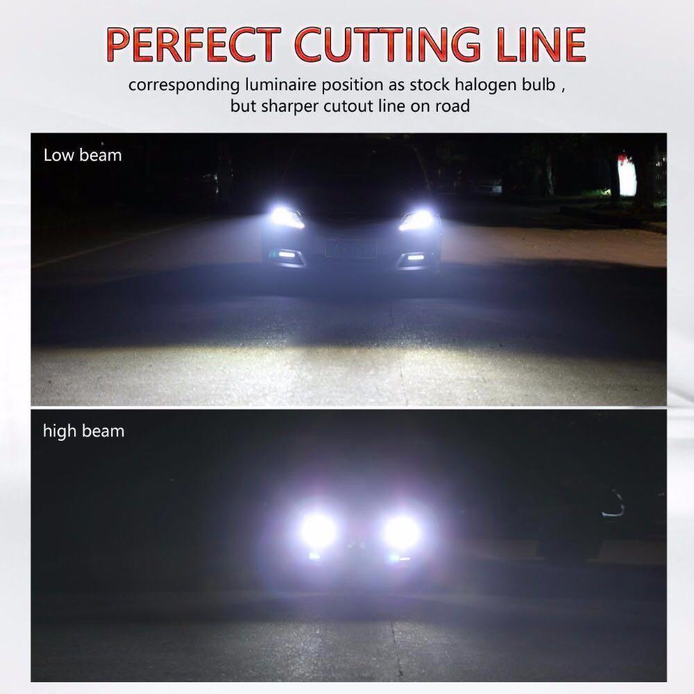 (Per Set) HB3, HB4, 9005, 9006, H4, H8, H9, H11, H16, LED CONVERSION KIT