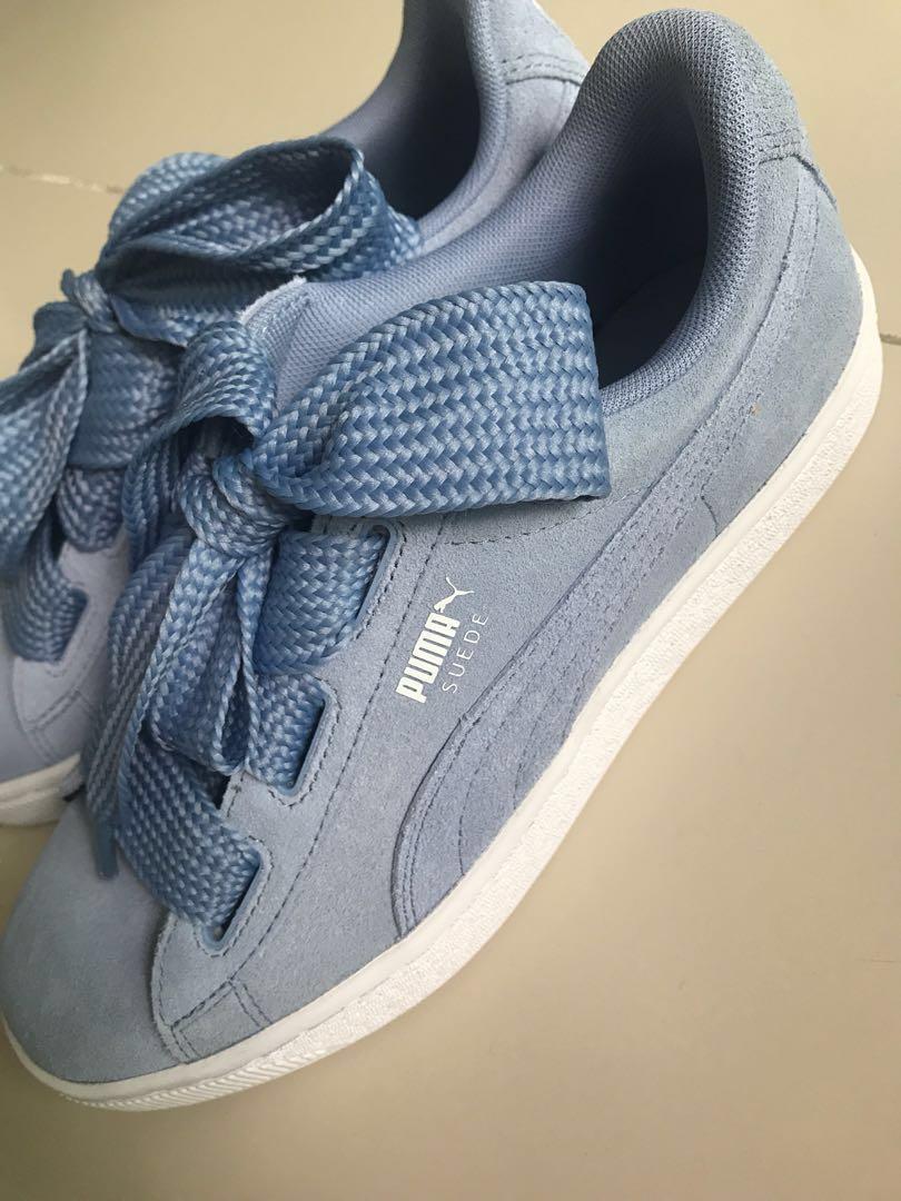 Puma basket heart suede baby blue EUR39 a3937e780
