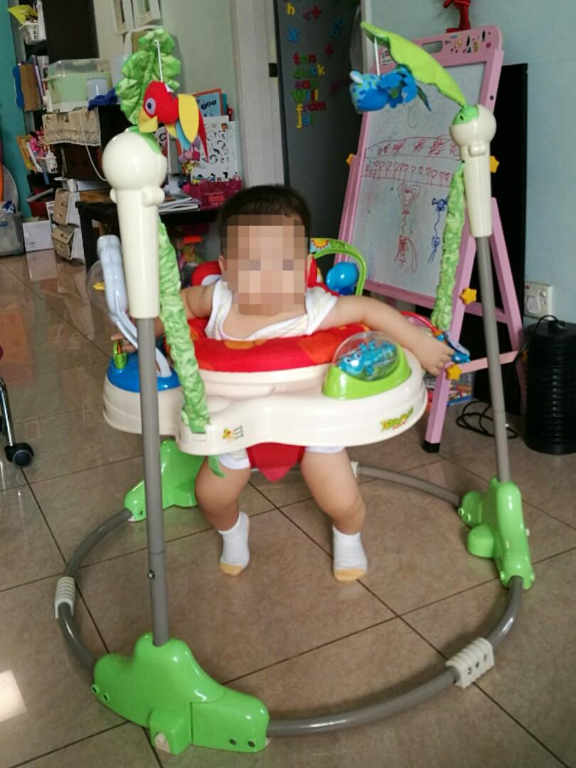 eed74456e276 Rainforest Jumperoo Baby Jumper Walker