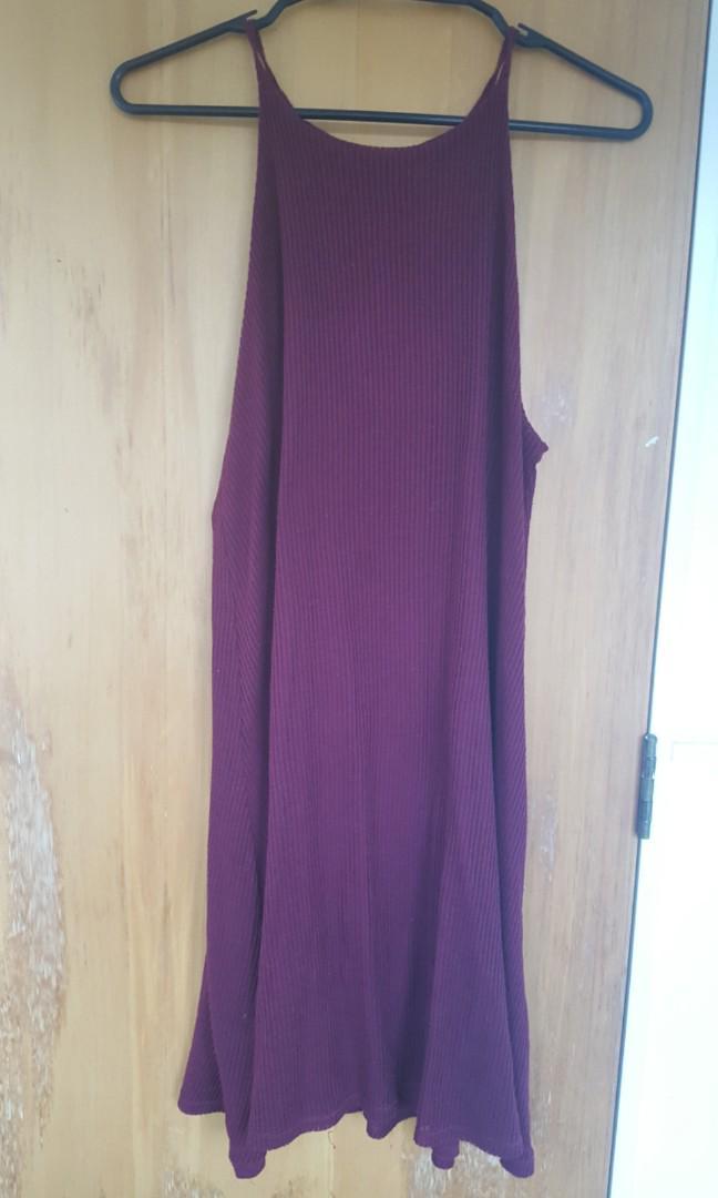 Cute Red/ wine red dress