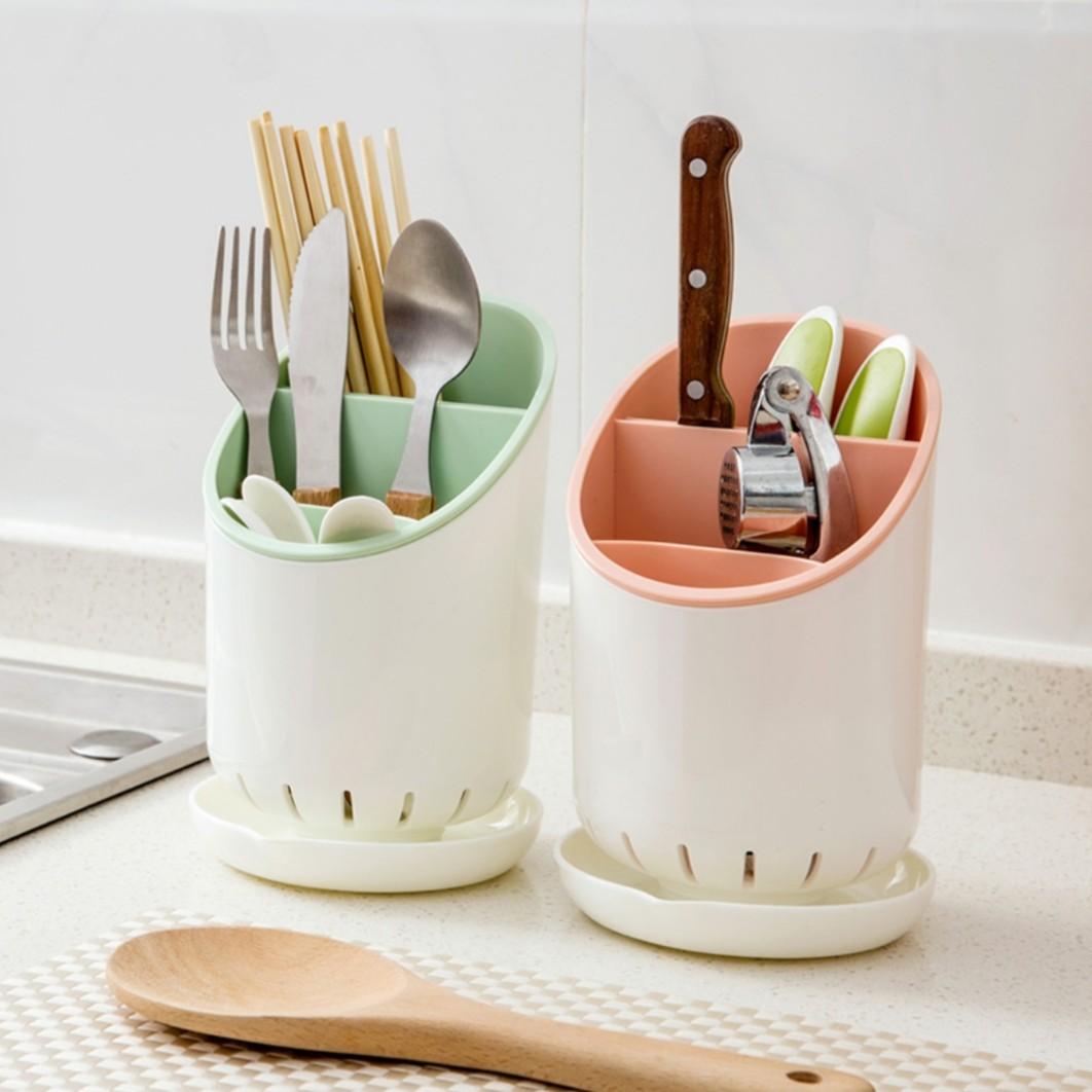Round Cutlery Utensils Holder
