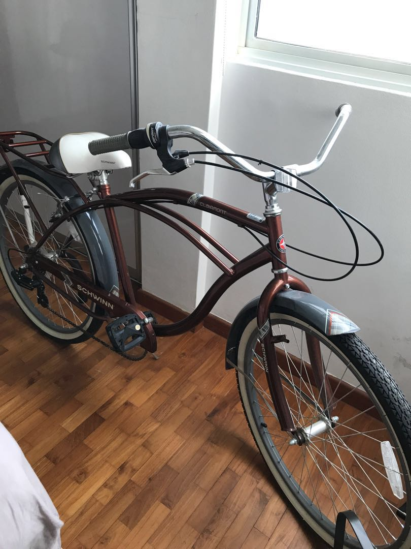 4b069ced0cd Schwinn Clairmont Vintage style American bicycle, Bicycles & PMDs, Bicycles,  Road Bikes on Carousell
