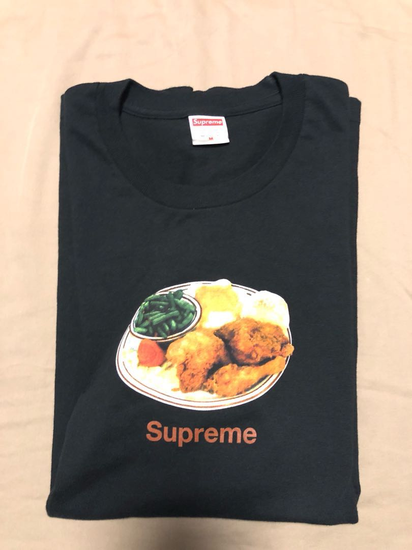 e9281d2fe8a5 Supreme Chicken Dinner Tee, Men's Fashion, Clothes, Tops on Carousell