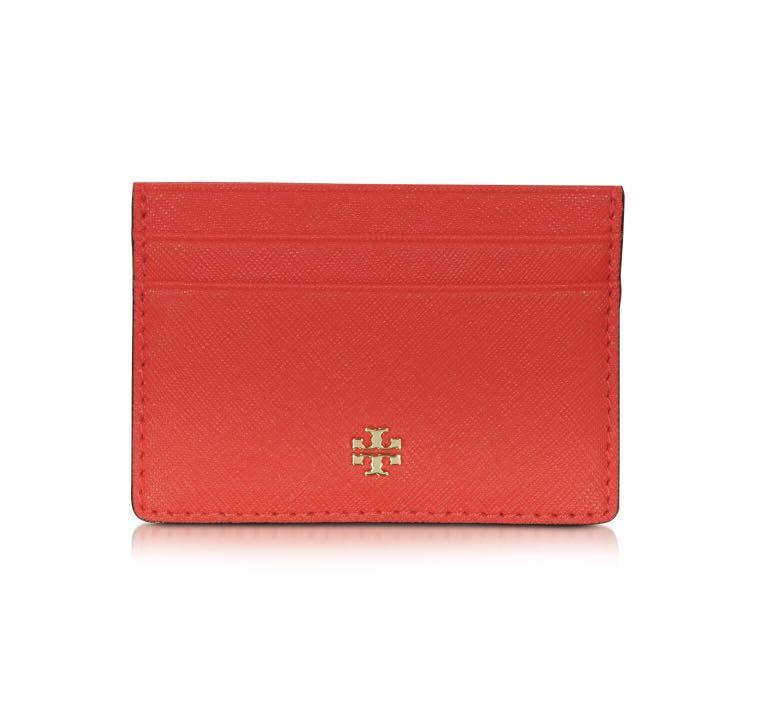 61ad082e1698a Tory Burch Emerson Slim Card Holder Case