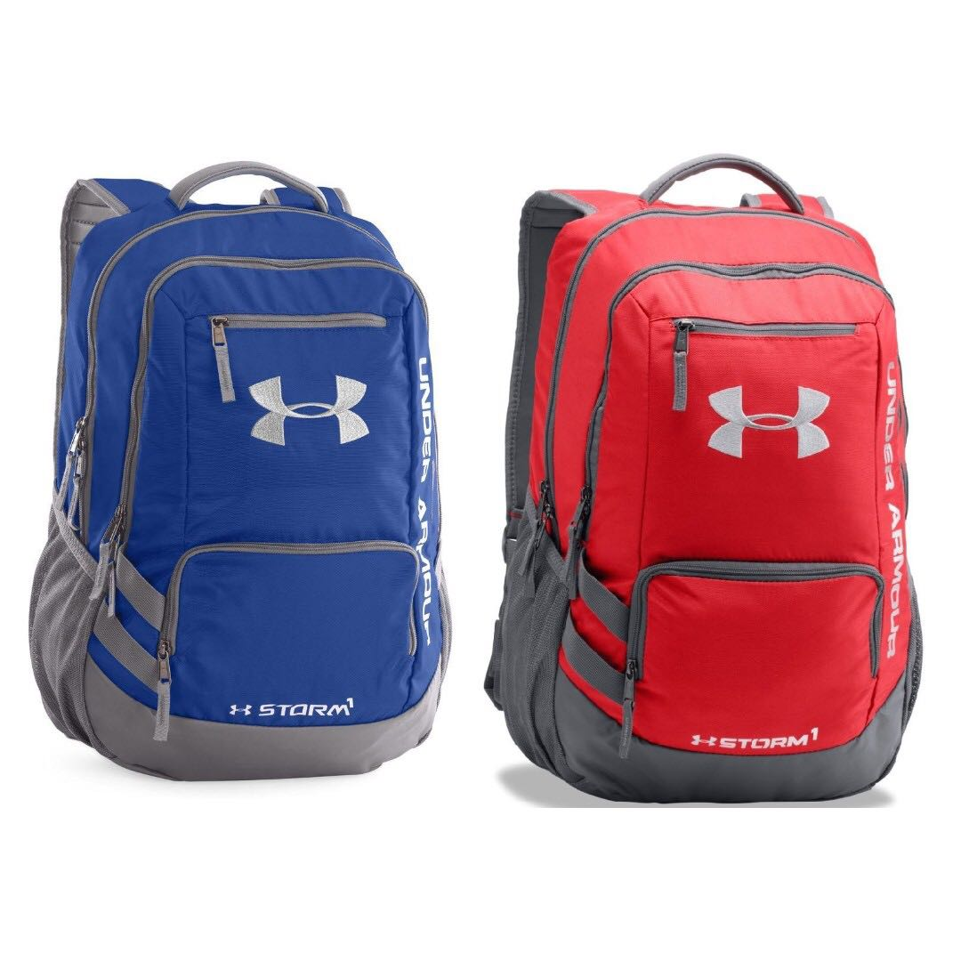 0a2f4127df Under Armour Storm Hustle Backpack Blue Red
