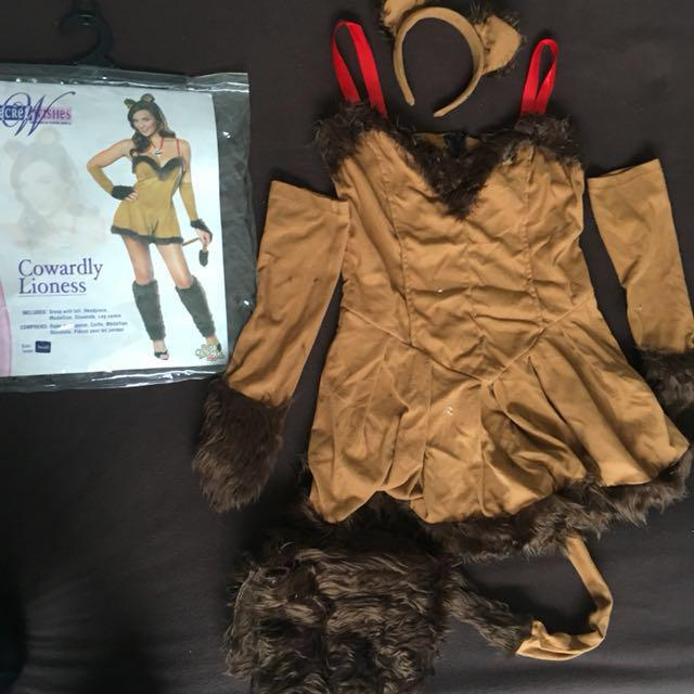 Womens Sexy Lioness Costume