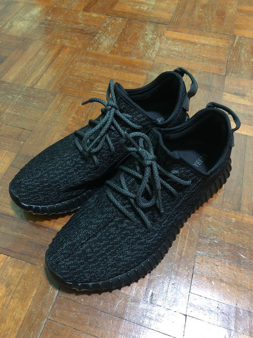 c4bb0459bdd24 Yeezy Boost 350 Pirate Black 2.0 US10