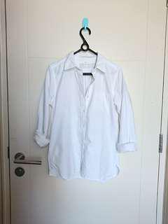 Muji hem blouse