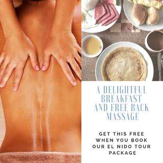 El Nido all in travel package + FREE massage
