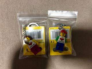 <DEREK> LEGOLAND Minifigure Male/Female Keychain