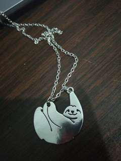 Sloth necklace