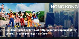HKG Disneyland Ticket