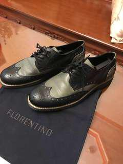 Florentino Wingtip leather shoes