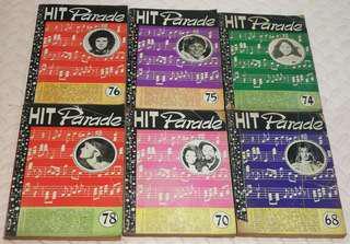 Hit Parade vintage collection 6 pcs