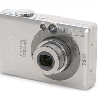 Canon IXUS 50 Digital Camera (PRICE SLASHED!)