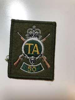 英國TA(Territorial Army) 50紀念章