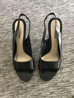Pierremichel leather high heels (2 inches)