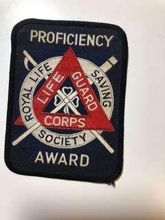 Royal Life Saving Society Life Proficiency Award