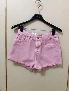 🚚 粉色短褲S