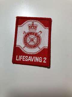 Royal Life Saving Society Life Saving 2徽章