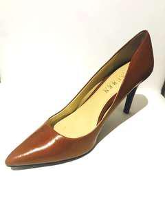 Ralph Lauren Camel Brown High Heels 6.5