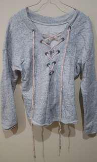 Sweater Crop Top Abu2
