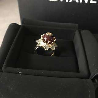 Authentic Chanel ring size 50