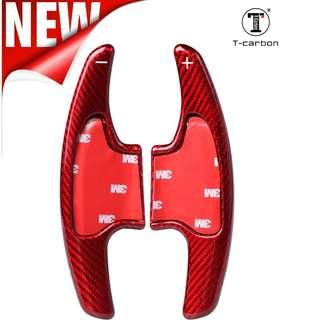 For 2017 Honda VEZEL, FIT, FREED, CITY -All New Vibrant Red series -Carbon Fibre Sports Shifter Extender