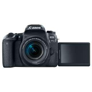 Canon EOS 77D  18-135 kit with Free bag & GIft