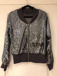 ✨SALE✨ Sparkling Bomber Jacket