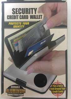 Waterproof ID credit card wallet holder