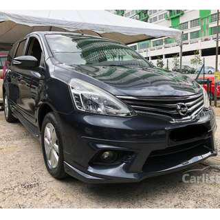 2016 Nissan Grand Livina 1.8 (A) One Owner Keyless Impul Bodykit Under Warranty