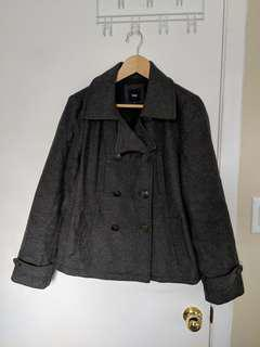 Gap wool peacoat medium