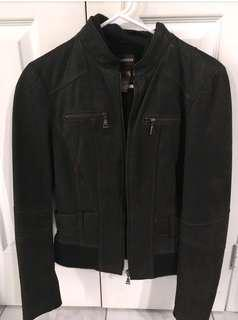 Danier leather jacket xs