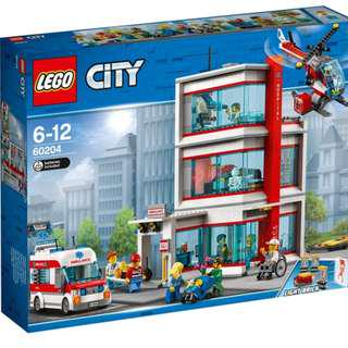 Lego 60204  - LEGO® City Hospital 60204 Brand NEW!