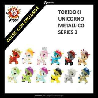 [FULL SET] Tokidoki Unicorno Metallico Series 3