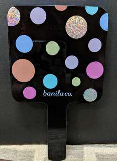 韓國 Banila co 芭蘭妮 波點 圓點 手拿鏡 美妝鏡 鏡子