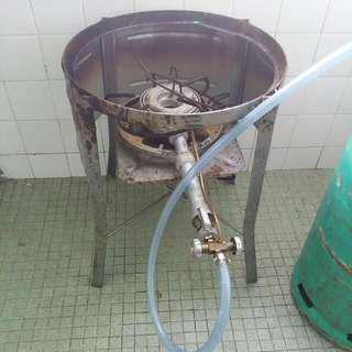 Dapur gas standing & Meja Lipat