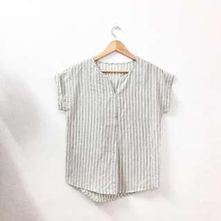 [ Free postage 📮]Stripy blouse #UNDER90
