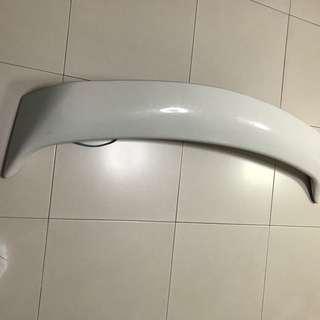 Mitsubishi GLX Stock Spoiler (White)
