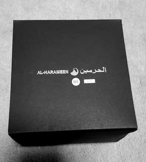 Al Harameen Azan Wrist Watch with Leather Strap