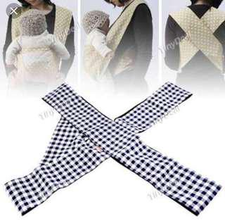 X style/shape baby carrier