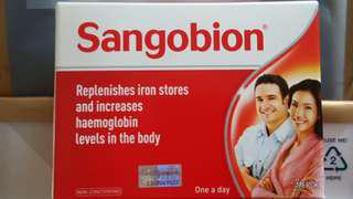 Free for all ! Sangobion iron tablets / supplements