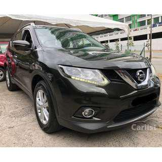 2015 Nissan X-Trail 2.5 (A) 4WD One Owner Leather Seat 360 degree Camera
