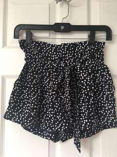 Navy shorts size XS