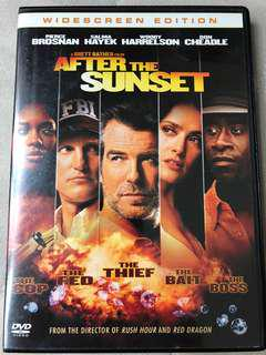 After the sunset Pierce Brosnan Salma Hayek DVD