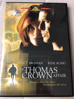 Thomas crown affair Pierce Brosnan Rene Russo DVD