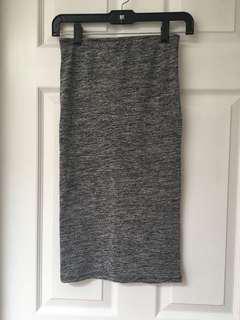 Zara grey skirt size S