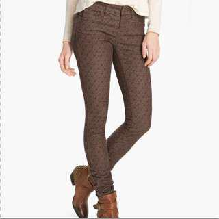 Free People Corduroy Print pants
