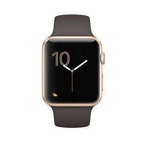 Apple Watch Series 2 42mm Gold Case Cocoa band